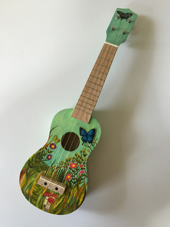 Ukulele for the Group Exhibition